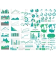 New style web elements infographic demographic vector