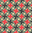 Seamless mosaic pattern with scratched grungy vector