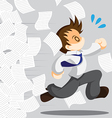 Escape from work vector