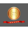 Premium and high quality gold label vector