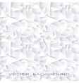 White crystal abstract background vector