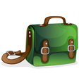 A green bag vector
