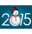 New year 2015 christmas background vector