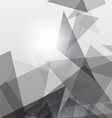 Grey geometric transparency vector