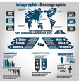 Infographic demographic new style 10 vector