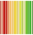 Rainbow colored barcode background vector