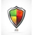 Colorful protection shield vector