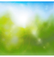Summertime background vector