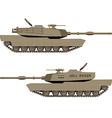 World war tank vector