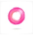 Pink business abstract circle icon vector