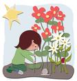 The gardener vector