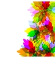 Motley flower background vector