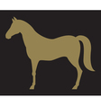 2098 horse silhouette vector