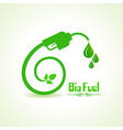 Bio fuel concept with nozzle vector