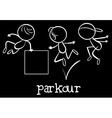 Parkour vector