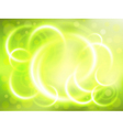 Soft focus green background vector