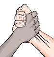 Rukovanje rasno vector