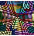 Futuristic abstract mosaic vector