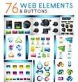 Mega set of web elements vector
