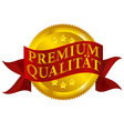 Premium quality seal german version vector