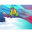 Ski jump vector