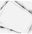 Ink blots frame shadow vector