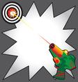 Laser tag party vector