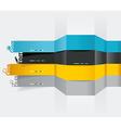 Web design template - horizontal lines in vector