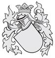 Aristocratic emblem no38 vector