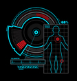 Health scanner interface vector