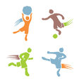 Active boys fitness sports set 2 vector