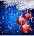 Christmas festive background vector