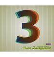 Color transparency symbol 3 vector