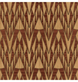 Wooden geometric pattern vector