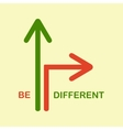Be different vector