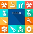Repair and construction working tools icon vector