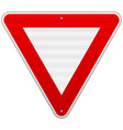 Yield triangle sign vector
