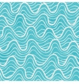 Seamless pattern with ocean waves vector