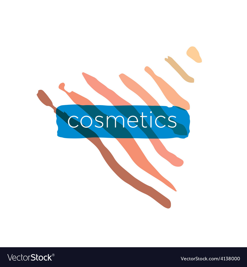Abstract logo pyramid for cosmetics vector | Price: 1 Credit (USD $1)