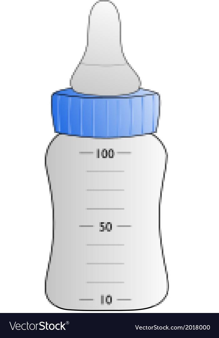 Baby milk bottle vector | Price: 1 Credit (USD $1)