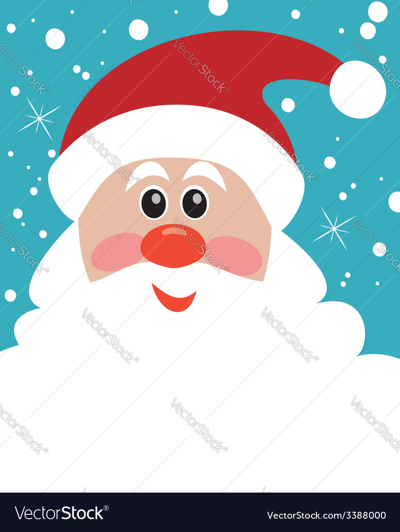 Christmas santa vector | Price: 1 Credit (USD $1)