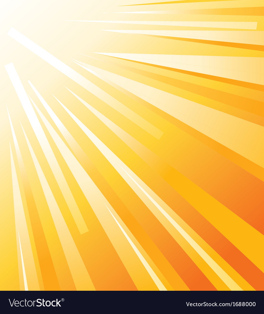 Sun shinning vector | Price: 1 Credit (USD $1)