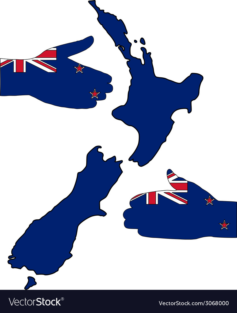 Welcome to new zealand vector | Price: 1 Credit (USD $1)