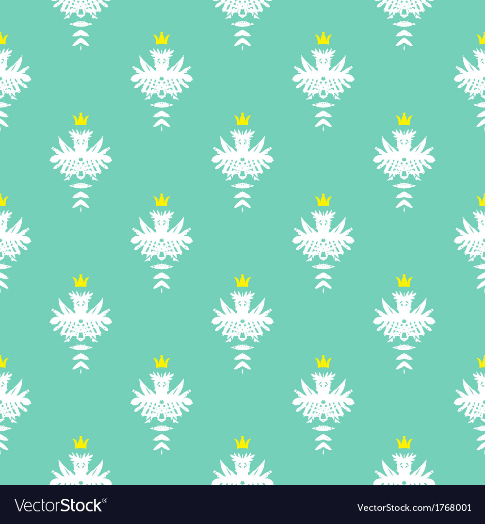 Elegant rich pattern with damask motif vector | Price: 1 Credit (USD $1)