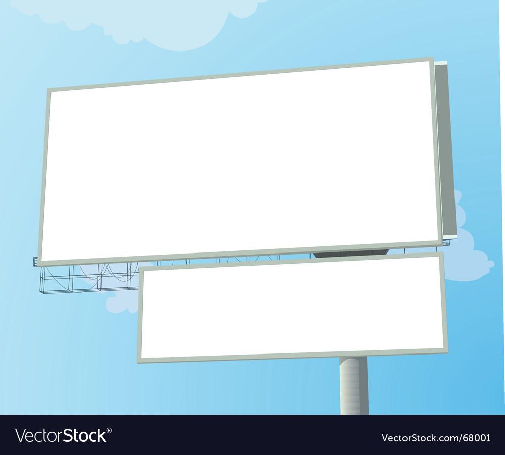 Huge billboard vector   Price: 1 Credit (USD $1)