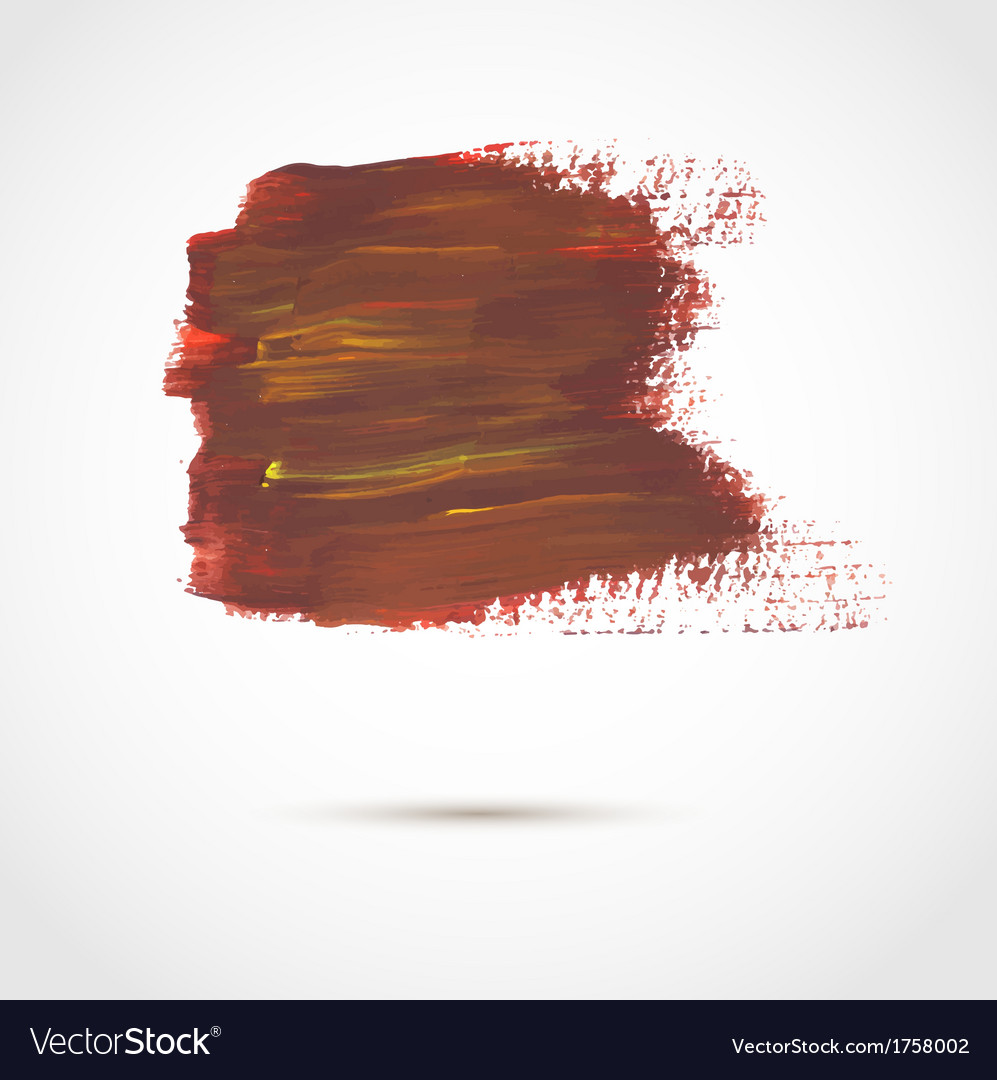 Abstract background with artistic paint banner vector | Price: 1 Credit (USD $1)