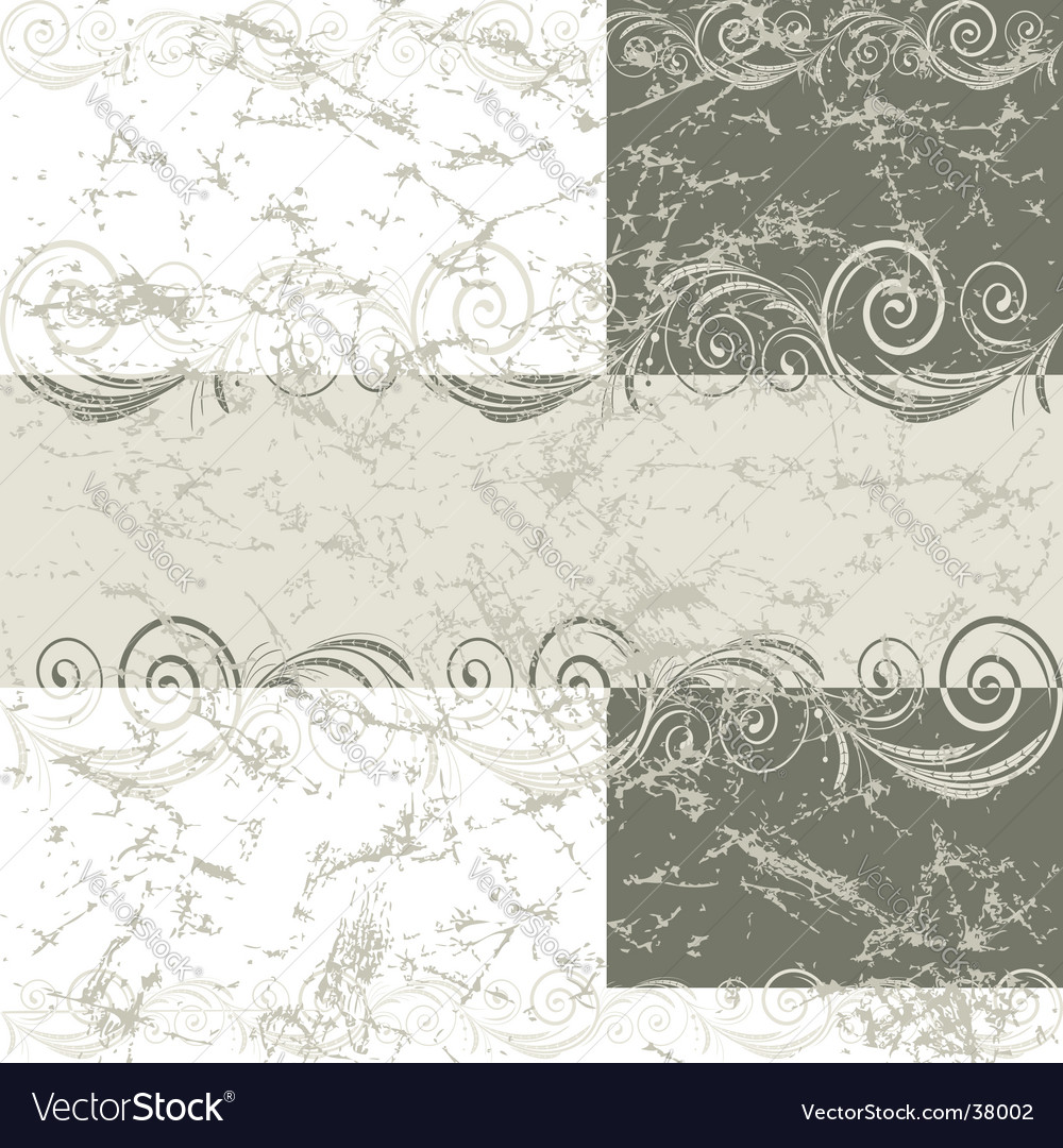 Vintage grunge frame vector | Price: 1 Credit (USD $1)
