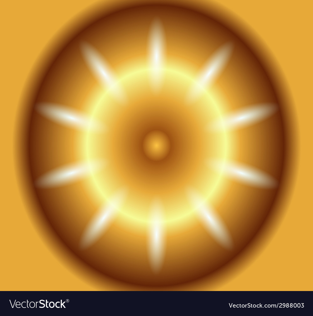 Circular dotted golden background vector | Price: 1 Credit (USD $1)