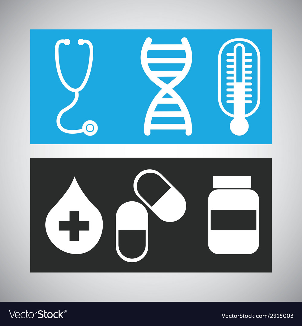 Medical icon design vector | Price: 1 Credit (USD $1)
