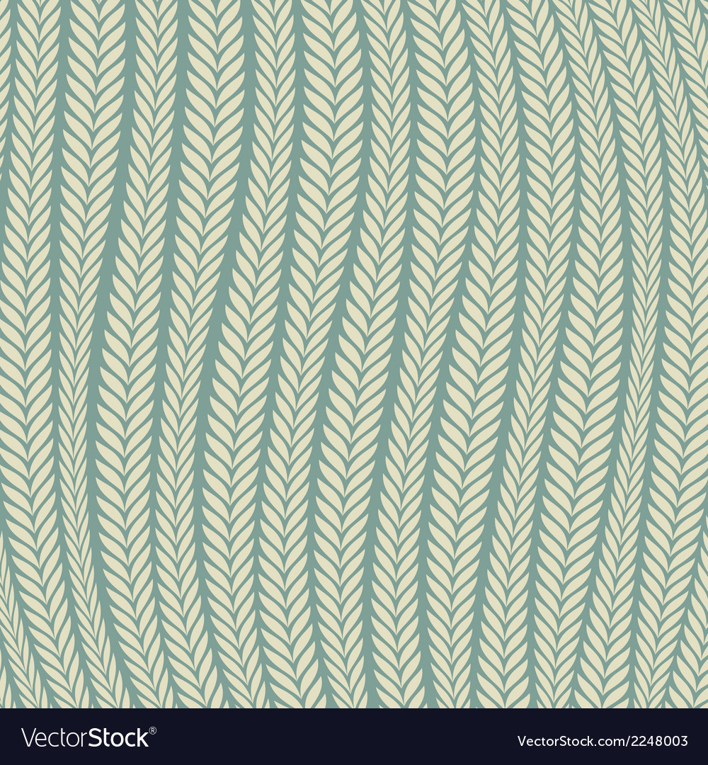 Pattern wheat ear blowing in the wind vector | Price: 1 Credit (USD $1)